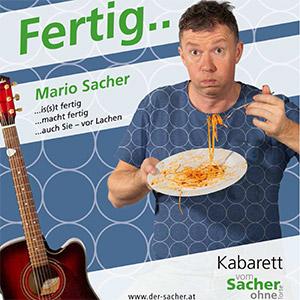 Kabarett, Mario Sacher @ Hahn Buam Hof